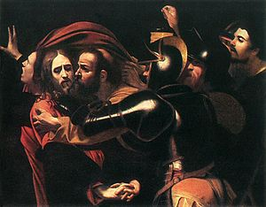 300px-Caravaggio_-_Taking_of_Christ_-_Odessa